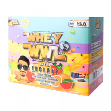 WWL WHEY PROTEIN ISOLATE ORANGE AND YOGURT